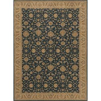 Dorchester Denim/ Beige Rug (12' x 15')