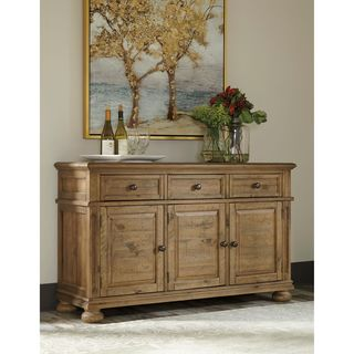 Signature Design by Ashley Trishley Brown Dining Room Server