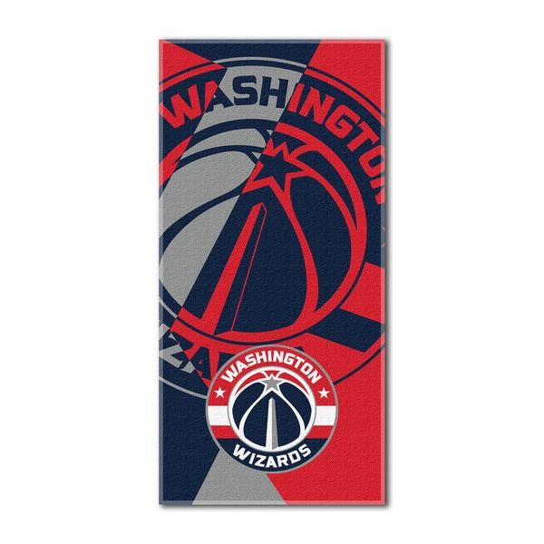 NBA 622 Wizards Puzzle Beach Towel