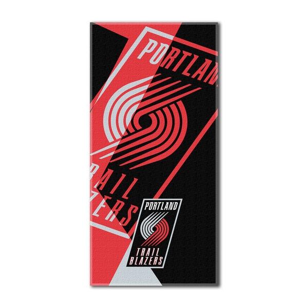 NBA 622 Trailblazers Puzzle Beach Towel