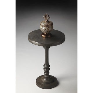 Butler Tanya Metal Pedestal Accent Table