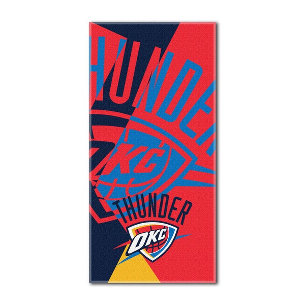 NBA 622 Thunder Puzzle Beach Towel