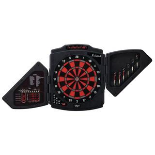 Viper X-Treme 15.5-inch Regulation Electronic Soft Tip Dartboard - Black