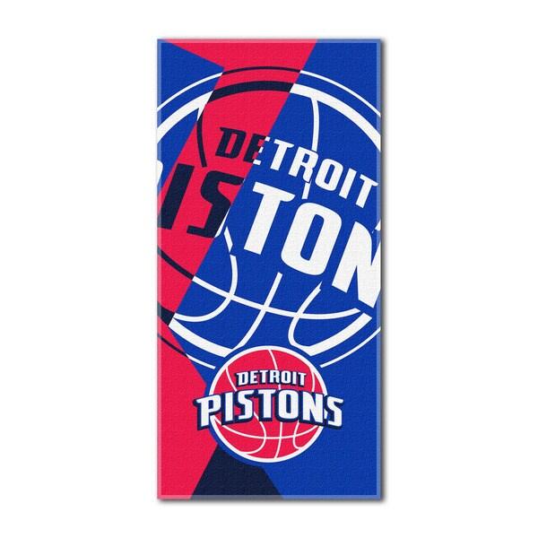NBA 622 Pistons Puzzle Beach Towel