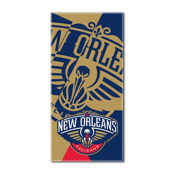 NBA 622 Pelicans Puzzle Beach Towel