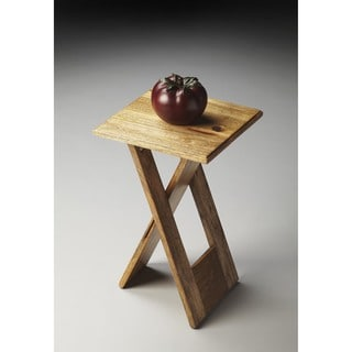 Butler Hammond Natural Mango/Acacia Wood Folding Table