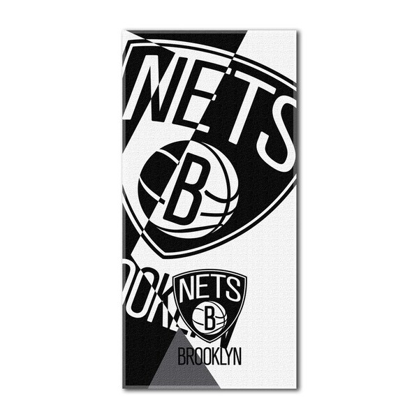 NBA 622 Nets Puzzle Beach Towel