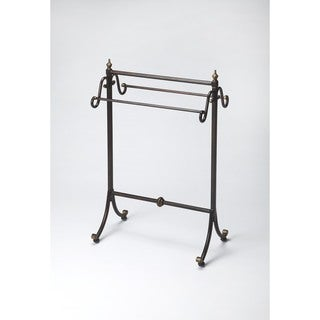 Butler Brown Stainless Steel Blanket Stand