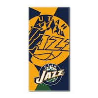 NBA 622 Jazz Puzzle Beach Towel