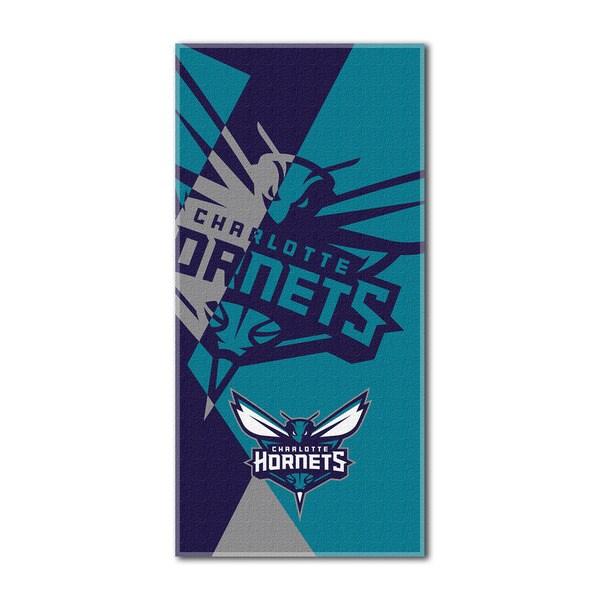 NBA 622 Hornets Puzzle Beach Towel