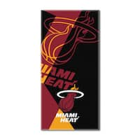 NBA 622 Heat Puzzle Beach Towel