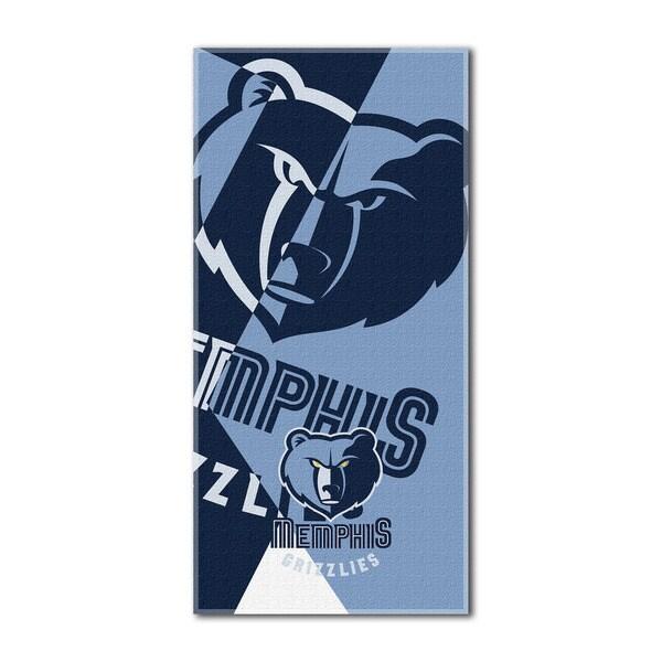NBA 622 Grizzlies Puzzle Beach Towel