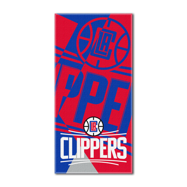 NBA 622 Clippers Puzzle Beach Towel