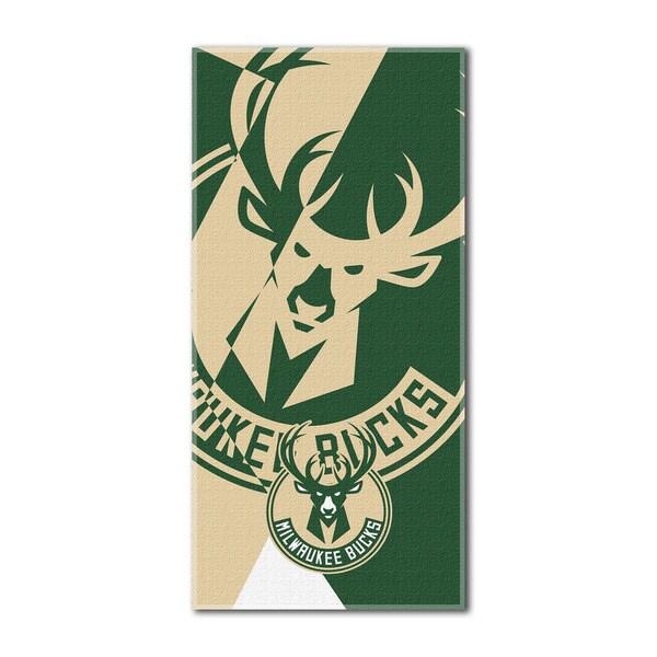 NBA 622 Bucks Puzzle Beach Towel