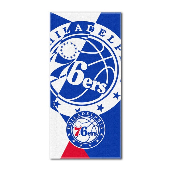 NBA 622 76ers Puzzle Beach Towel