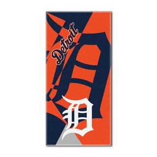 MLB 622 Tigers Puzzle Beach Towel