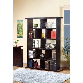 Charlie Brown Espresso Finish MDF Display Cabinet