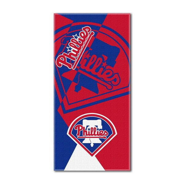 MLB 622 Phillies Puzzle Beach Towel