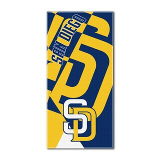 MLB 622 Padres Puzzle Beach Towel