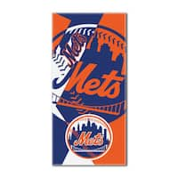 MLB 622 Mets Puzzle Beach Towel