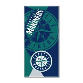 MLB 622 Mariners Puzzle Beach Towel