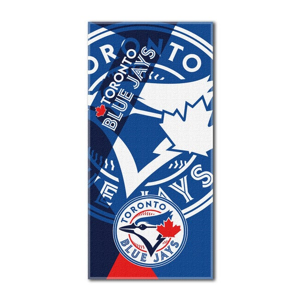 MLB 622 Blue Jays Puzzle Beach Towel