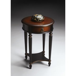 Handmade Butler Jules Cafe Brown Wood Noir End Table (China)