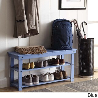 Porch & Den Bywater Surekote Mudroom Shoe Storage Bench (4 options available)