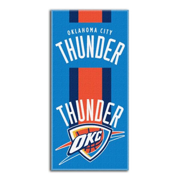 NBA 720 Thunder Zone Read Beach Towel