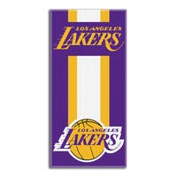 NBA 720 Lakers Zone Read Beach Towel