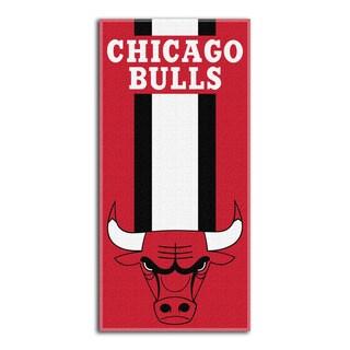 NBA 720 Bulls Zone Read Beach Towel