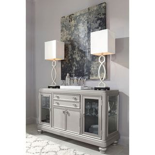 Signature Design by Ashley Coralayne Silver Dining Room Server