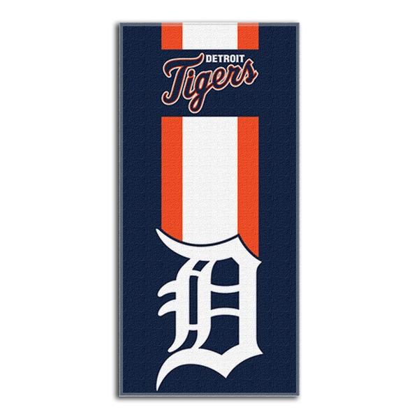 MLB 720 Tigers Zone Read Beach Towel