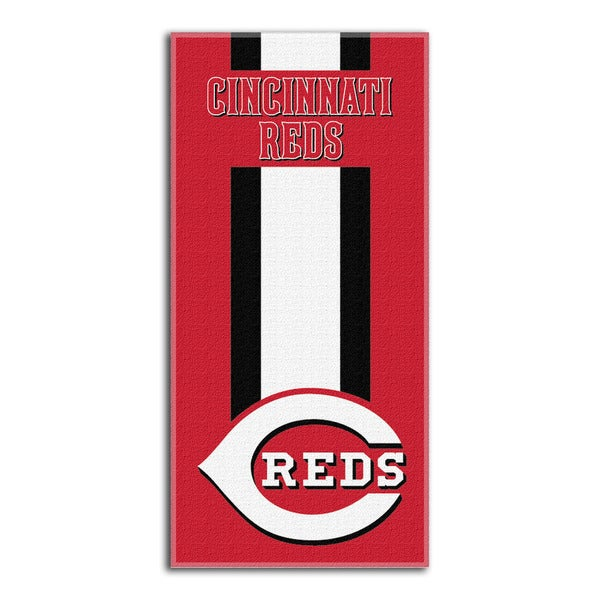 MLB 720 Reds Zone Read Beach Towel