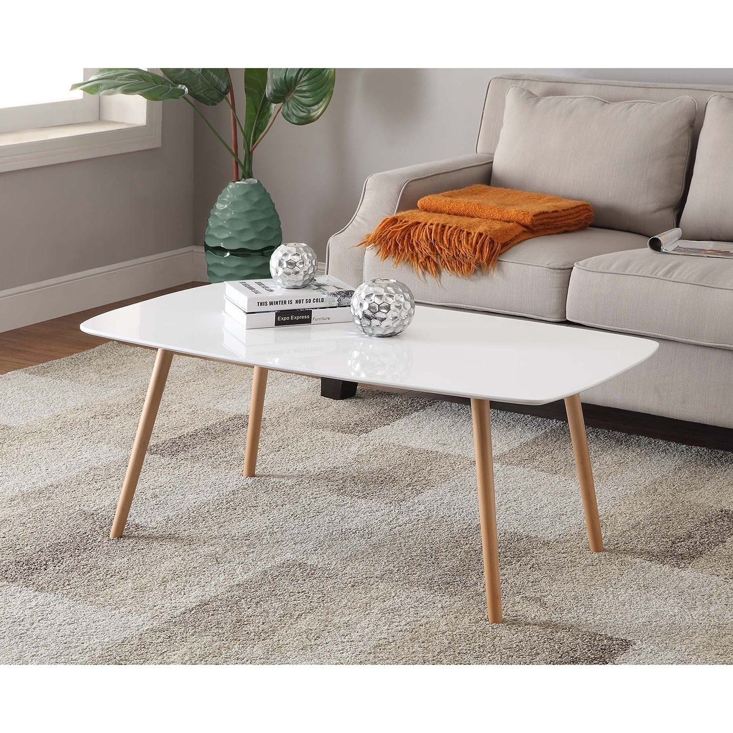 Charming Convenience Concepts Oslo Coffee Table