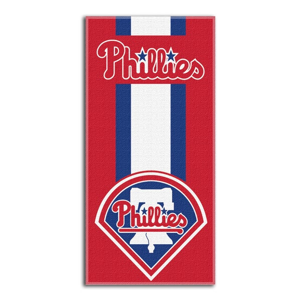 MLB 720 Phillies Zone Read Beach Towel