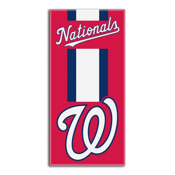 MLB 720 Nationals Zone Read Beach Towel