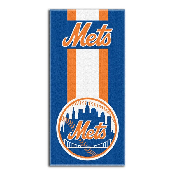 MLB 720 Mets Zone Read Beach Towel