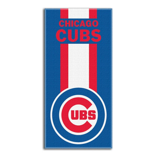 MLB 720 Cubs Zone Read Beach Towel