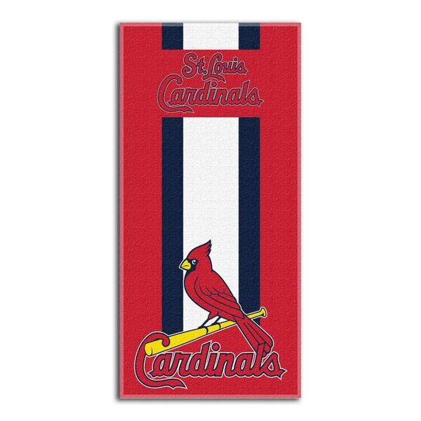 MLB 720 Cardinals Zone Read Beach Towel
