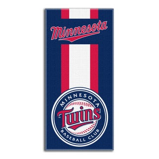 MLB 620 Twins Zone Read Beach Towel