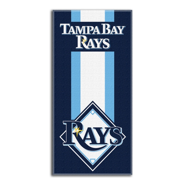 MLB 620 Rays Zone Read Beach Towel