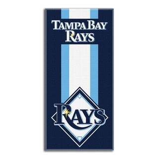 MLB 620 Rays Zone Read Beach Towel