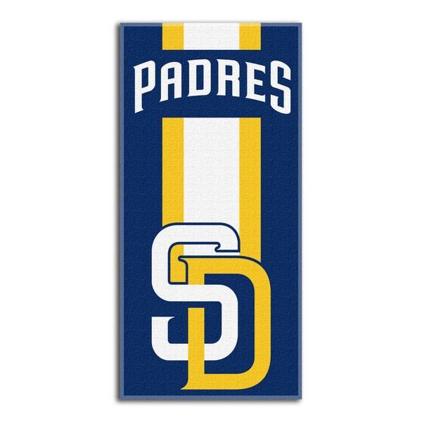 MLB 620 Padres Zone Read Beach Towel