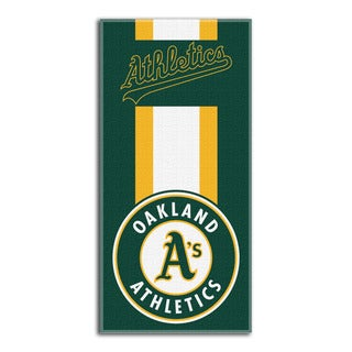 MLB 620 Athletics Zone Read Beach Towel