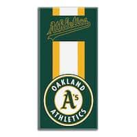 MLB 620 Athletics Zone Read Beach Towel