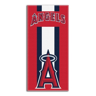 MLB 620 Angels Zone Read Beach Towel