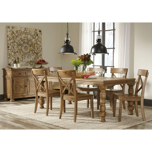 Signature Design By Ashley Trishley Brown Dining Room Table Free