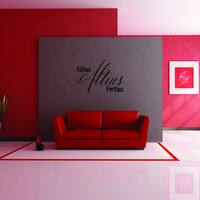 Style and Apply 'Citius Altius Fortius' Vinyl Wall Decal