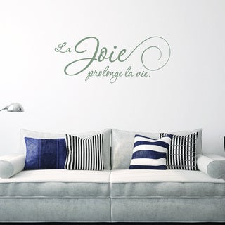 Style and Apply La Joie Multi-color Vinyl Removable Wall Decal